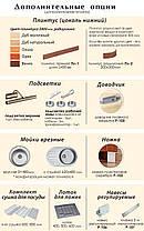 Комфорт Хай-Тек кухня КХ-186 бирюза перламутр 3.2 х 1.75 м , фото 3