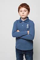 Футболка Поло с длинным рукавом для мальчика
