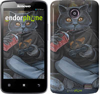 "Чехол на Lenovo A820 gamer cat ""4140c-68-532"""