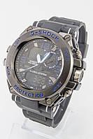 Мужские спортивные наручные часы (черные + синие), фото 1