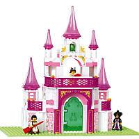 """Конструктор Sluban (Слубан) """"Розовая мечта"""" Замок для принцессы: 508 деталей"""