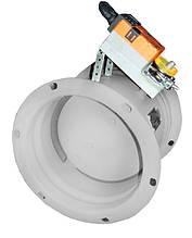 Заслінка кругла АЗД 122.000 (Ø 200мм) з електроприводом Belimo