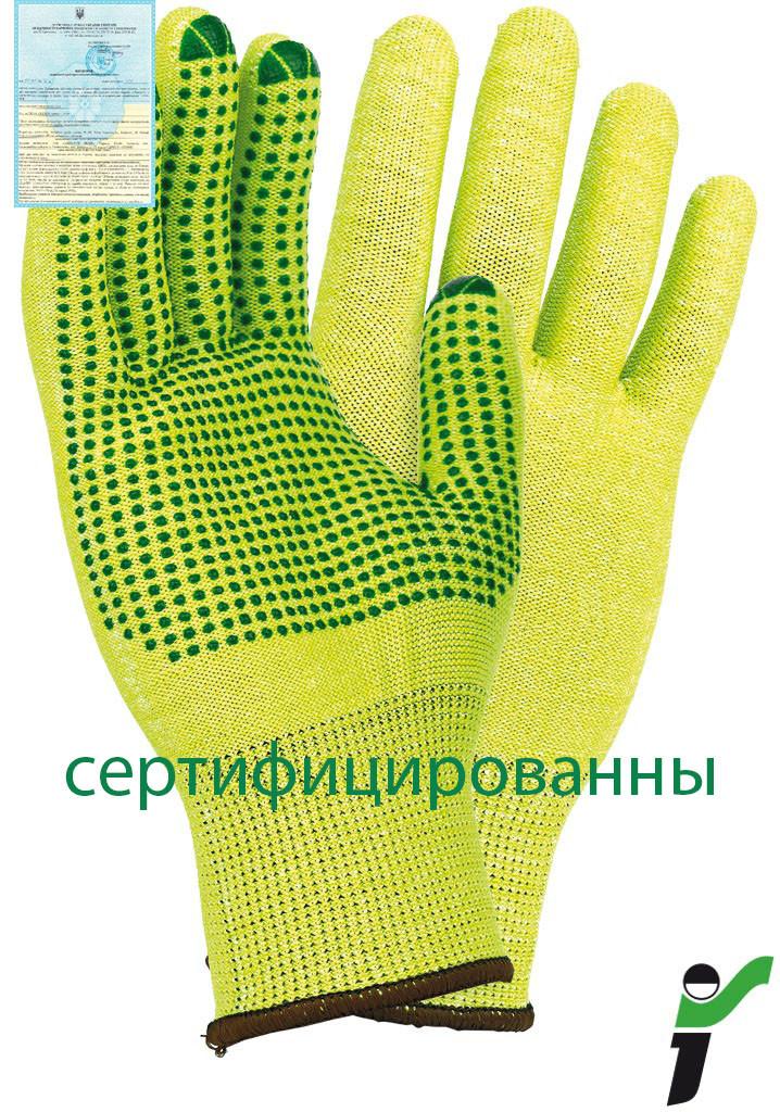 Захисні рукавиці, трикотажні RJ-POLV L