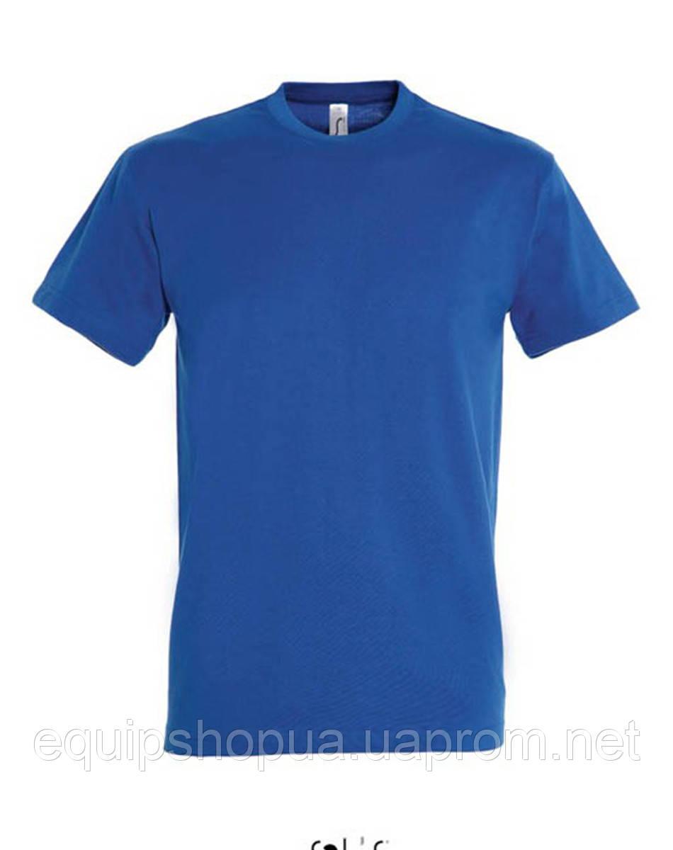 Футболка мужская с круглым воротом SOL'S IMPERIAL-11500  Синяя, s