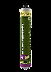 Поліуритановий клей для приклеювання пінополістирольних плит Greinplast KP, клей-піна для пінопласту