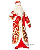 Карнавальный костюм для взрослых аниматоров Дед Мороз Арт.148