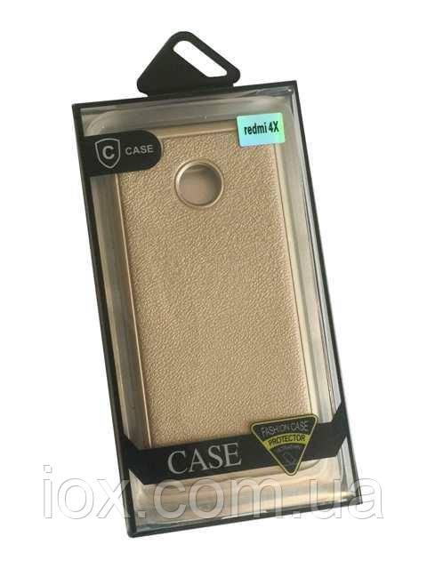 Силиконовый чехол-накладка Protector Fashion Case для Xiaomi Redmi 4X