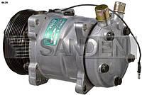 Компрессор универсальный 5S14, PV7, 12V, SANDEN, модель 6629S