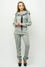 Красивый спортивный костюм Крокус серый (44-54)