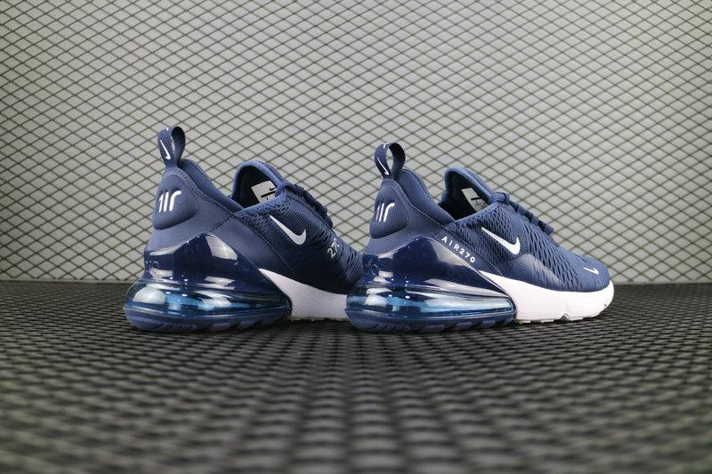 Купить Nike Air Max 270 Flyknit Dark Blue. Кроссовки Найк Аир Макс ... eba0fa9feac