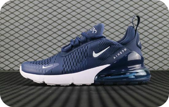 Мужские кроссовки Nike Air Max 270 Flyknit Dark Blue, цена 1 549 грн ... 4707609b4c0