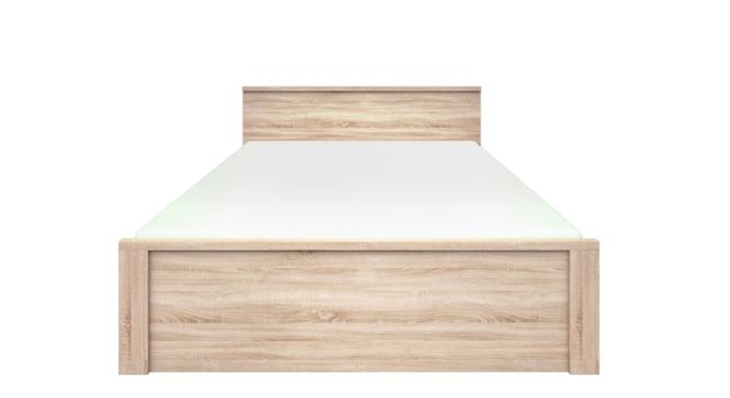 Ліжко з ДСП/МДФ в спальню LOZ 160 (без вкладу) дуб сонома Norton ВМВ Холдінг