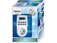 Розетка с таймером электронным Feron TM22 (61925), фото 1