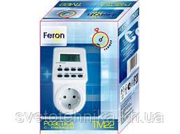 Розетка с таймером электронным Feron TM22 (61925)