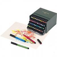 Набор капиллярных ручек Faber Castell PITT Artist Pen Brush  (60 цв.)