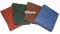 Резиновая плитка Premium Eco Standard, 500*500*30 мм