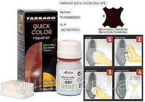 Крем-восстановитель для гладкой кожи Tarrago Quick Color 25 мл цвет темно коричневый (06)