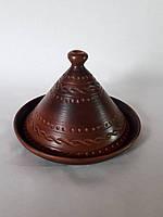 Таджин из красной глины  порционный