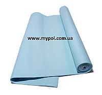 Коврик для йоги, йога мат 4 мм, голубой