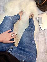 Женские синие джинсы B-5198