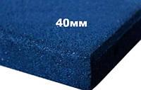Резиновая плитка Premium Eco Standard, 500*500*40мм