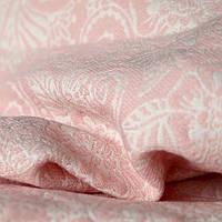 Слинг-шарф YAROSLINGS Yaro Ava Puffy Light Rose Wool Glam (49% шерсти) (4,2 м)