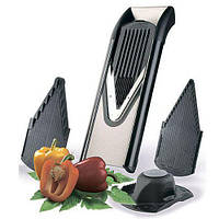 Овощерезка комплект Börner ПРОФИ металл с 4 вставками черная