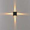 Фасадный светодиодный светильник 4*1 Вт.