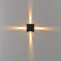Фасадный светодиодный светильник 4*1 Вт., фото 1