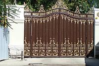 Ворота кованые, художественная сварка