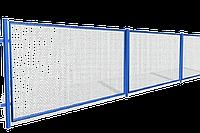 Заборы из сетки рабицы | Забор из металлической сетки | Ограждения из сетки