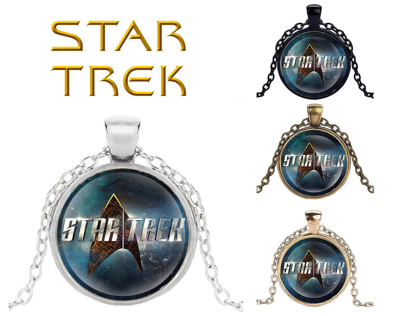 Кулон Star Trek Звездный Путь