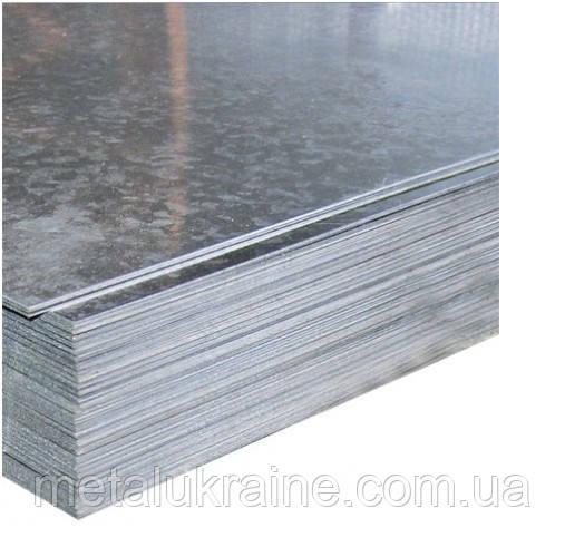 Лист оцинкований 1,5х1250х2500 мм