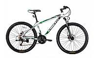 """Подростковый велосипед Kinetic Profi 26"""" бело-зеленый"""