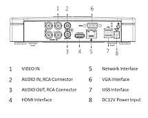 Комплект видеонаблюдения Full HD уличный KIT-CV4FHD-4B, фото 3