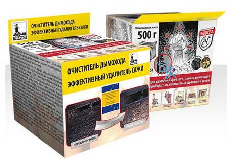 Чистка дымохода - очиститель 500г (10 пакетиков) Литва, фото 2