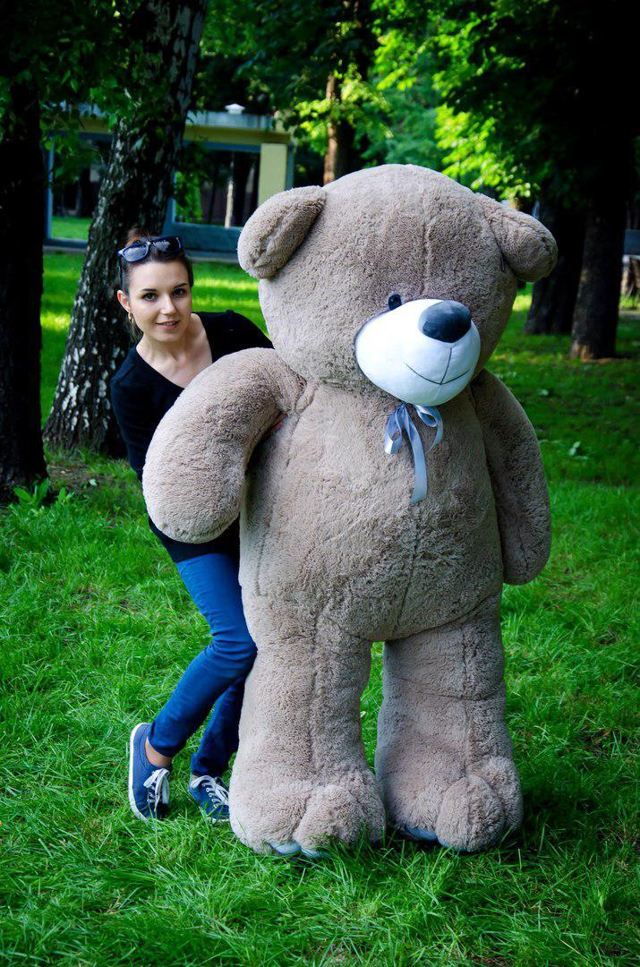 Большой плюшевый медведь 200см. Вэтли разные цвета (плюшевый мишка, мя