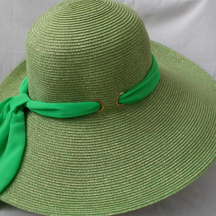 Шляпы Del Mare c люриксом