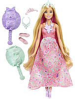 Кукла Барби Принцесса с волшебными волосами / Barbie Dreamtopia Color Stylin' Princess Doll, Pink, фото 1