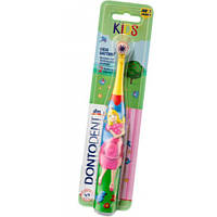 Детская зубная щетка на батарейках Dontodent для девочек (Германия)