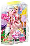 Кукла Барби Принцесса с волшебными волосами / Barbie Dreamtopia Color Stylin' Princess Doll, Pink, фото 9