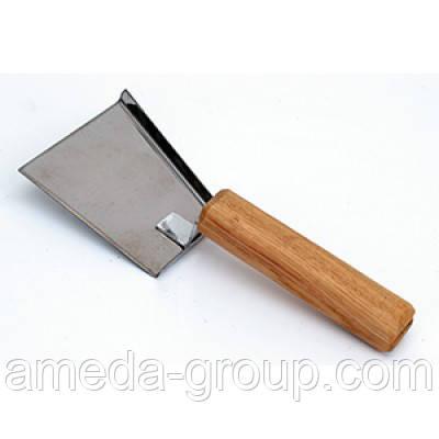 Скребок лопатка нержавеющий, фото 2