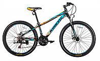 "Подростковый велосипед Kinetic Profi 26"" Черно-синий"