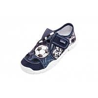 Детские тапочки для мальчика р. 28, 29, 34, 35 (мокасины, текстильная обувь)
