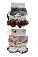 """Носки с подошвой для девочки с тормозками """"Bbross"""", микс цветов, 16-17"""