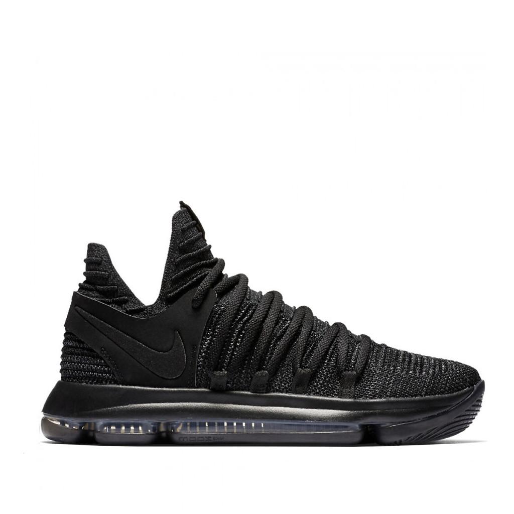 new style 0151d de481 Мужские кроссовки Nike KD 10 Fingerprint Tripple Black, Копия - TopCross в  Львове