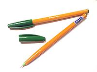 Ручка масляная Croma зеленая