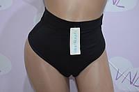 Черные трусы утяжка, хлопковое женское белье