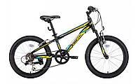 """Велосипед Kinetic Coyote 20"""" черно-желтый"""