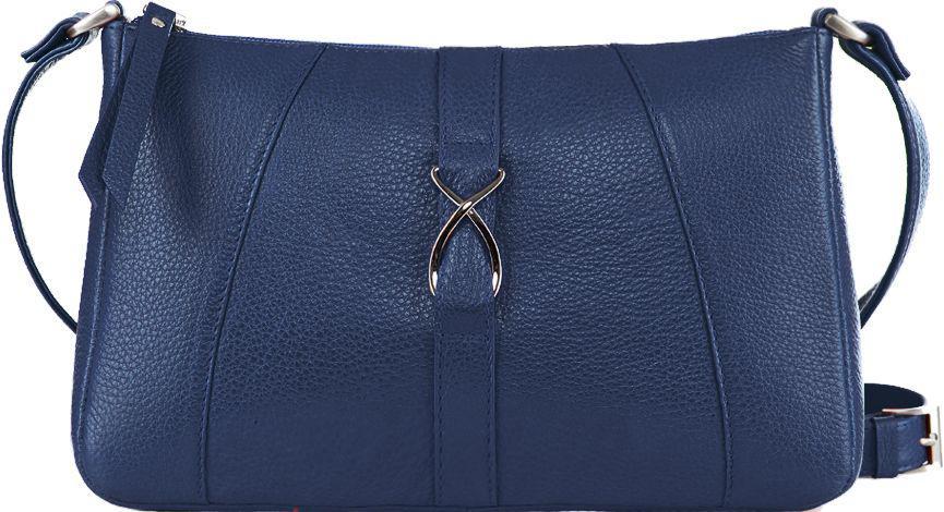 Женская кожаная сумка Issa Hara Анита 13-00 синий